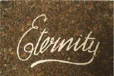 "Arthur Stace - ""Eternity"""