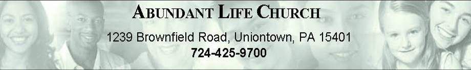 click here for Abundant Life Church website and directions