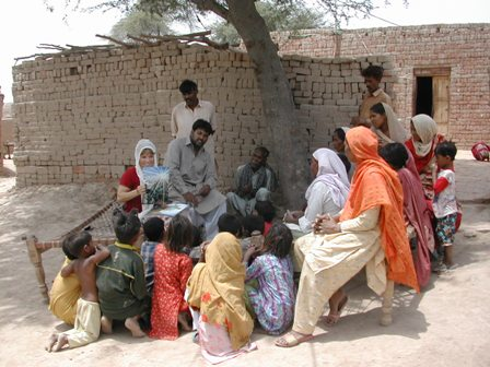 Sharing the Gospel in the Brick Makers Colony