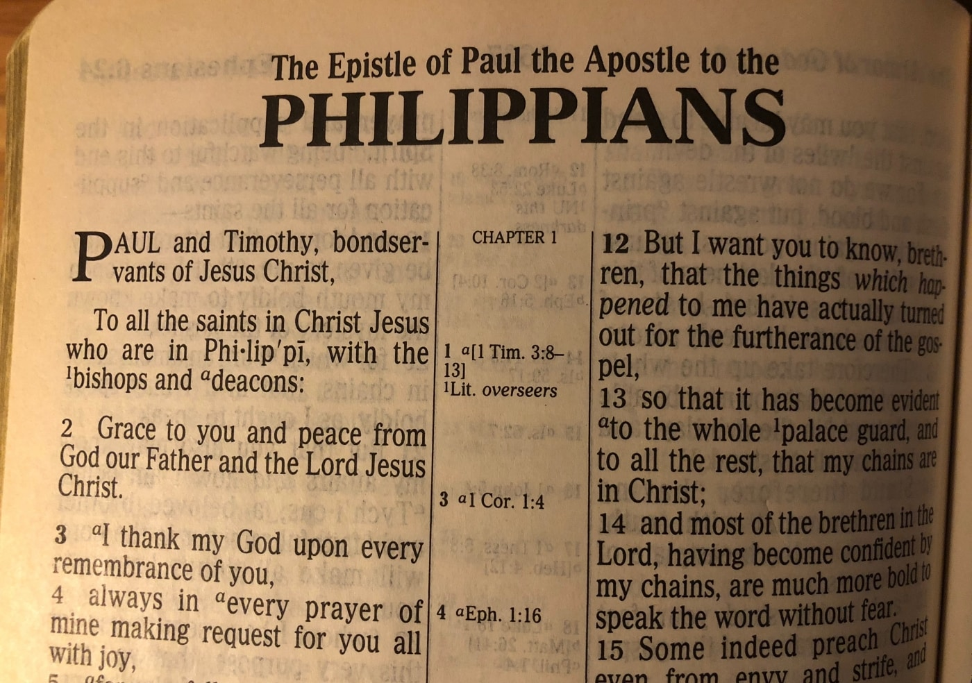 Philippians -- PA Camp 2014