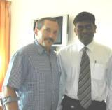 Gene with Dr.  Bose