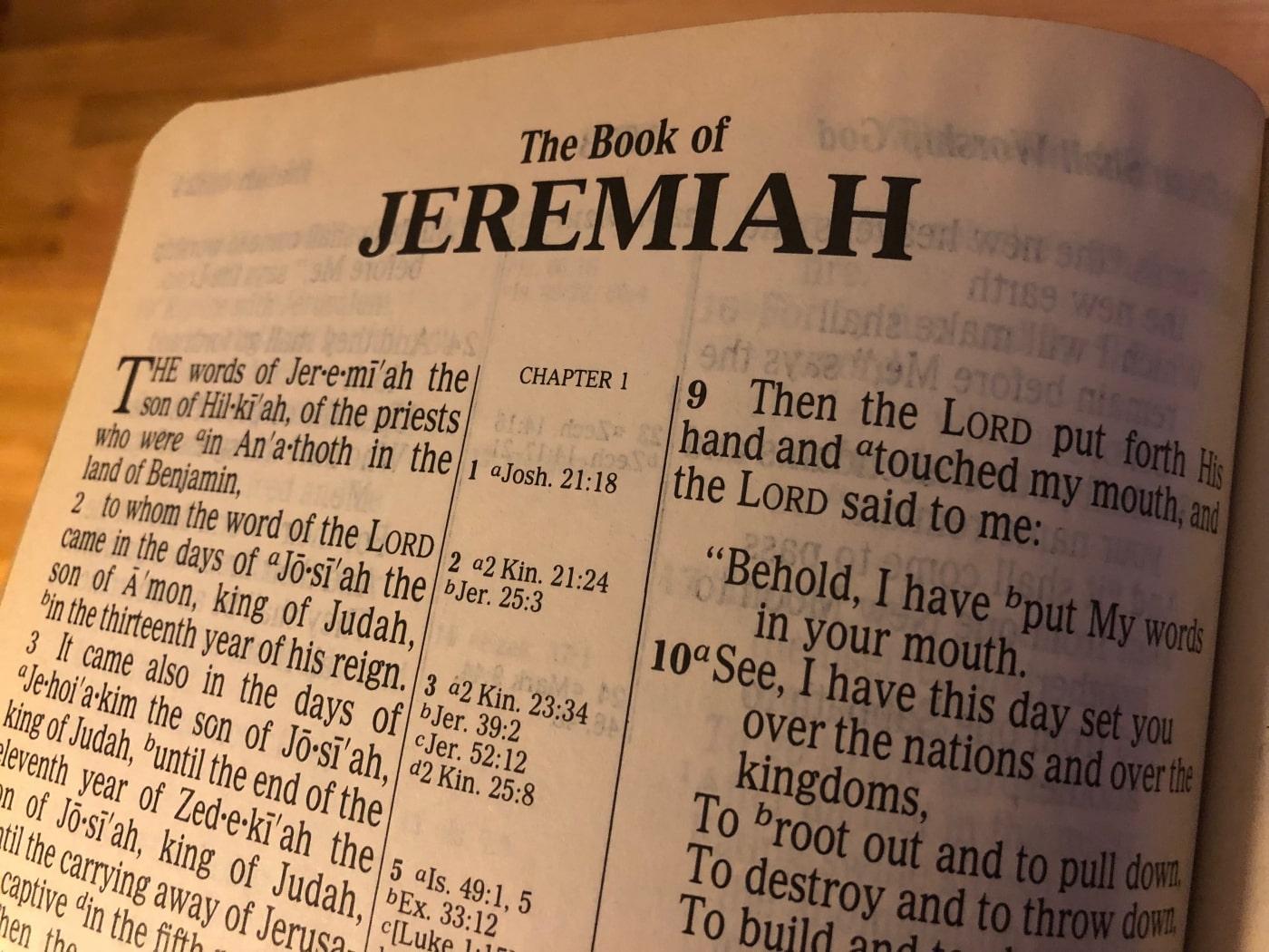 Jeremiah 43