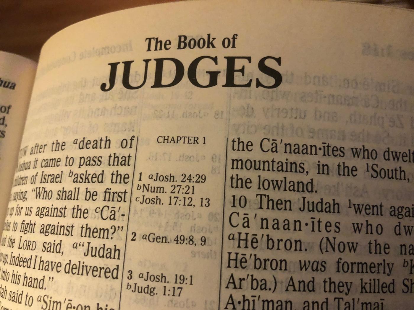 Judges 5