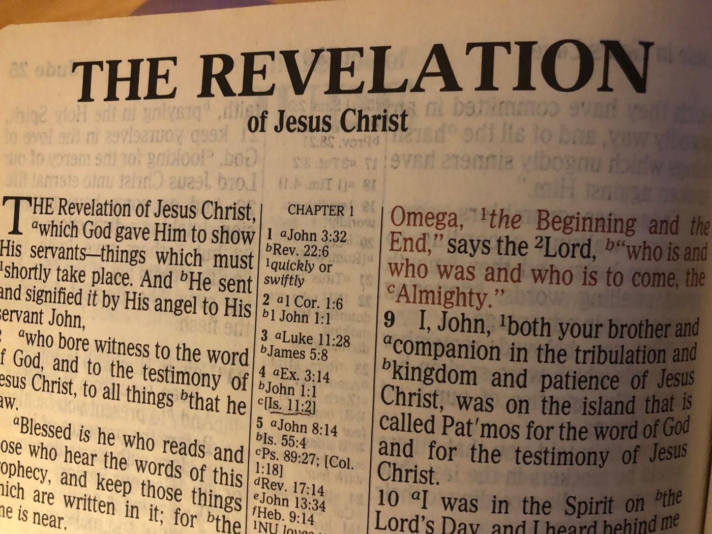 Revelation # 013