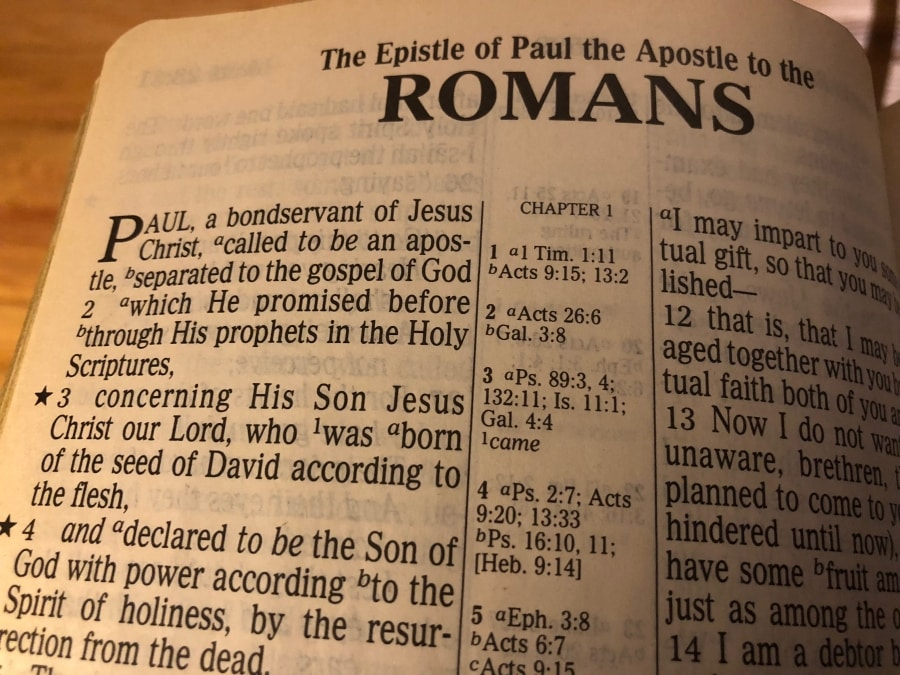 Five Theological Threads of Romans - 1