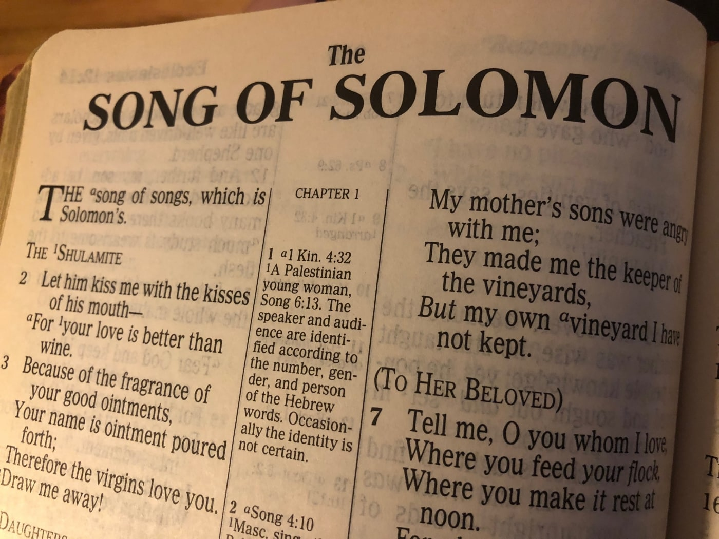 Song of Solomon #7