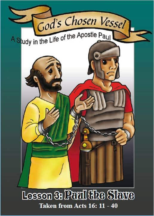 Paul Lesson 3 - Visual Aid