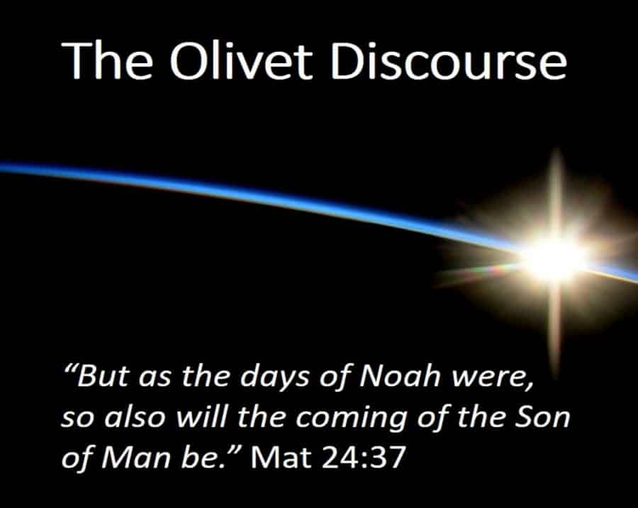 The Olivet Discourse 1