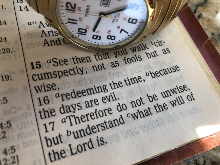 Redeeming the Time -- 2020 PA Retreat