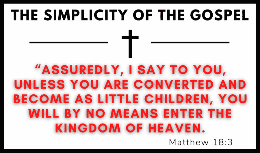 The Simplicity of the Gospel -- TX May 2021